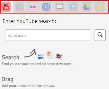 edcanvas search tools