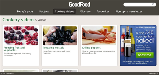good food videos