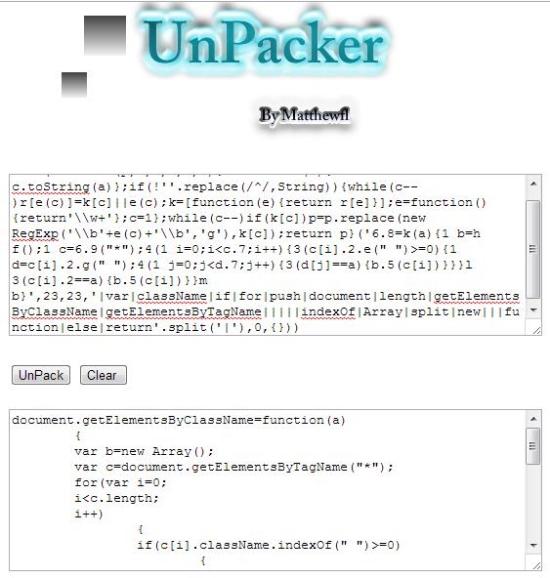 javascript unpacker 01