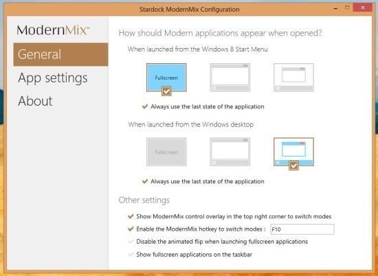 modernmix for windows 8