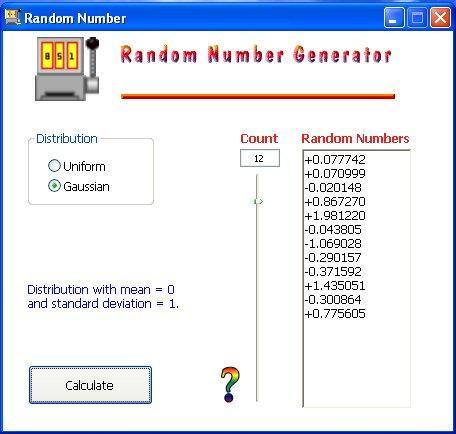 random number generator 02