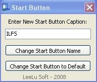 start button caption interface