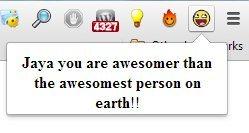 yaa customized message
