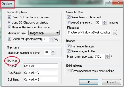 3D Clipboard 03 clipboard manager
