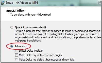 4K To Mp3 02 convert any video to mp3