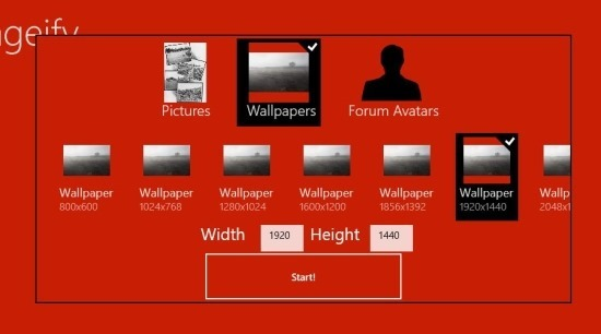 Collage App For Windows 8 Collageify