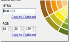 ColorSpy 02 color picker application