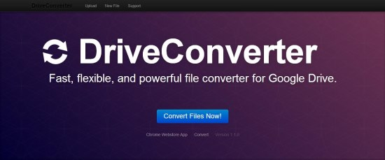 DriveConverter interface