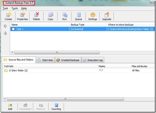 Exiland Backup 01 backup PC files