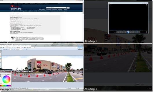 Finestra Virtual Dekstops 01 multiple virtual desktops