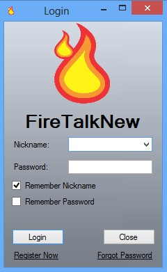 FireTalkNew default window