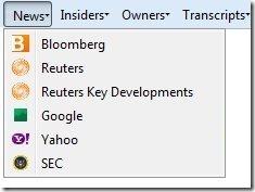 Firefox Stock News