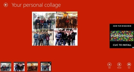 Free Collage App For Windows 8 Collageify