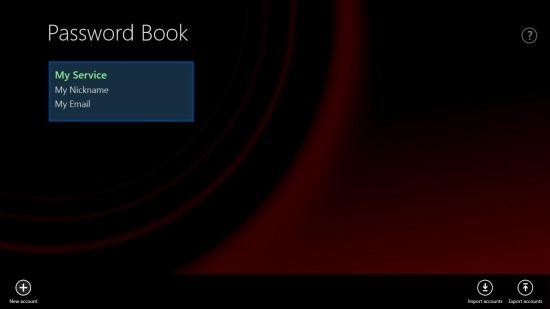 Free Password Manager App For Windows 8