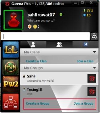 Garena Plus 02 free messenger