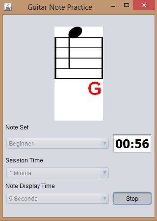 Guitar Note Practice playing notes