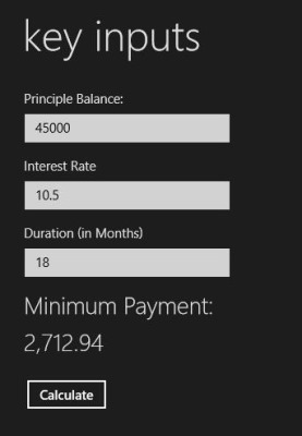 How To Use Free Mortgage Calculator App For Windows 8