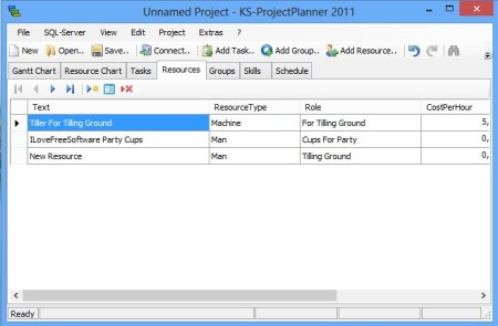 KS Project Planner resources