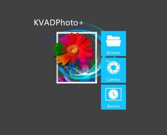 KVADPhoto  Free Photo Editor App For Windows 8