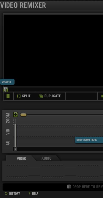 Kaltura Advanced Editor default window