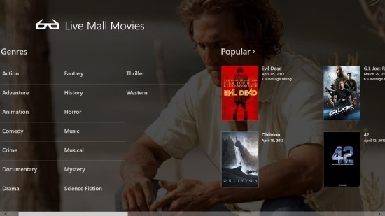 Live Mall Movies Get Movies And Celebrities Information