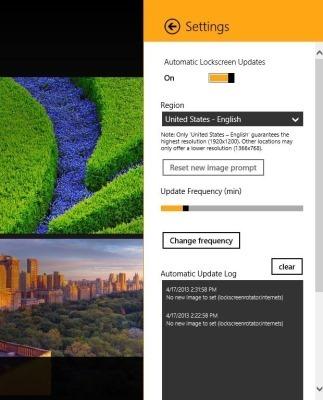 Lockscreen Wallpapers For Windows 8 Bing My Lockscreen