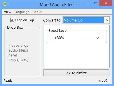 Moo0 Audio effect advanced features
