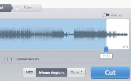 Online Audio Cutter second half