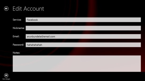 Password Manager App For Windows 8 Password Book