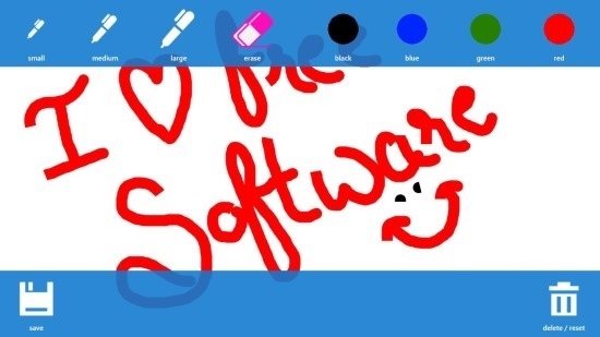 Sketch board App For Windows 8
