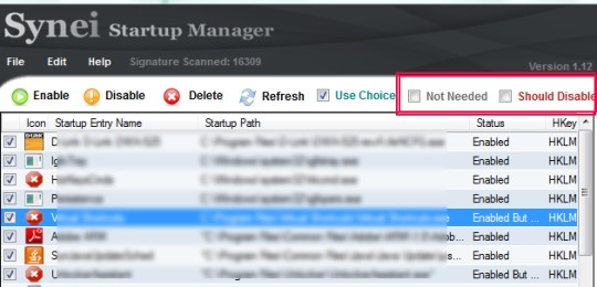 Synei Startup Manager 01 manage startup programs