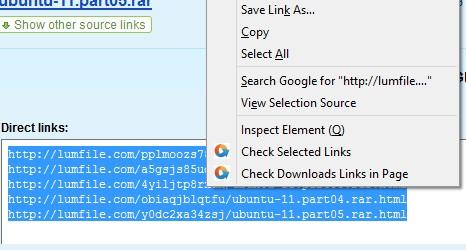URL Checker firefox addon