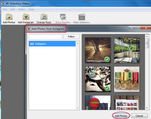 4K Slideshow Maker 00 create photo slideshow