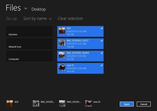 Windows 8 Slideshow App