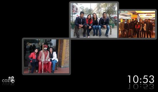 cozi collage screensaver