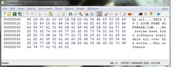 everedit hex editor