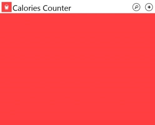 free Calorie Counter For Windows 8