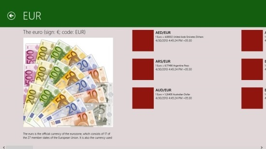 free Currency Converter for Windows 8