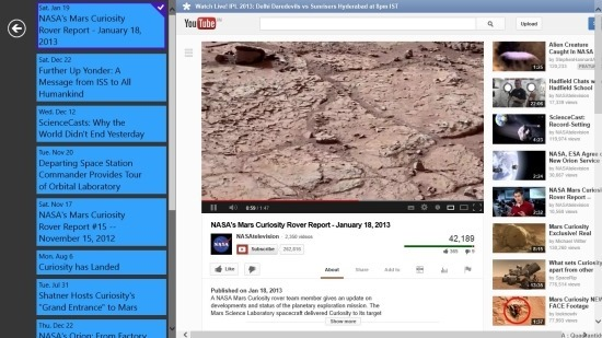 free Space Exploration App For Windows 8