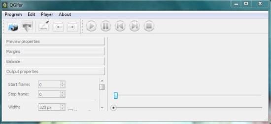 qgifer interface