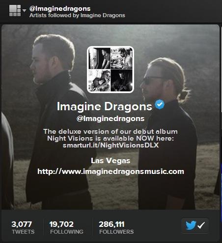 twitter music artist info