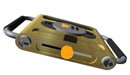 3D Audio Player bottom