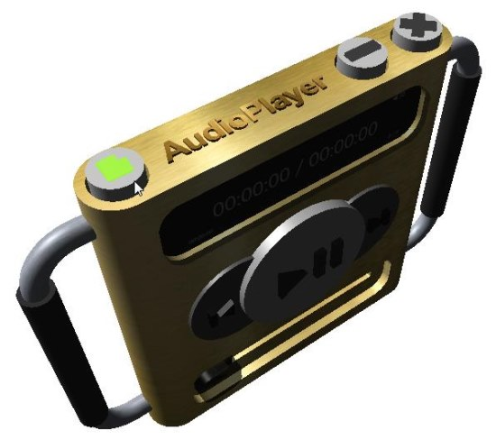3D Audio Player top
