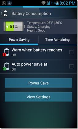 AVG Battery Consumption