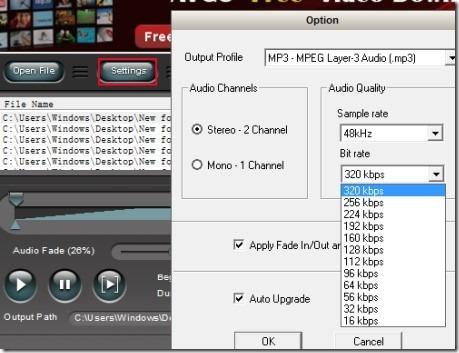 AVGO Free Audio Converter 02 audio video conversion software