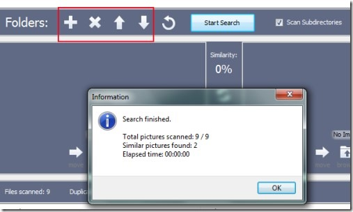 Awesome Duplicate Photo Finder 02 free software for removing duplicate photos