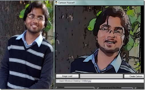 Cartoon Yourself 01 convert photo to painting
