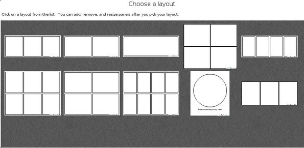 Chogger choose layout