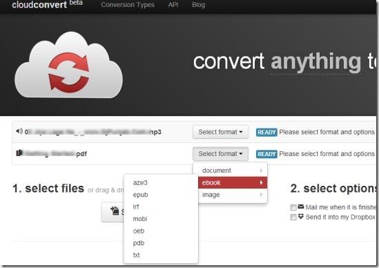 CloudConvert 01 free online file conversion