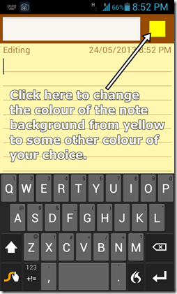 ColorNote Text Edit-Note creation